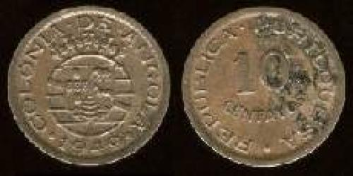 10 centavos; Year: 1948-1949; (km 70)