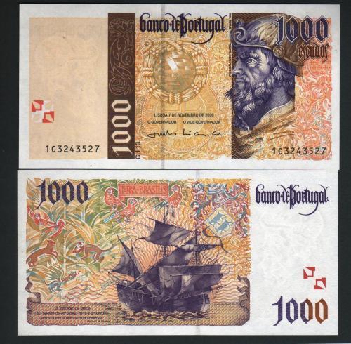 Portugal 1000esc 2000