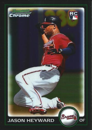 2010 Bowman Chrome #190 ~ Jason Heyward RC
