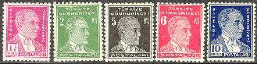 Definitives 5v; Year: 1940
