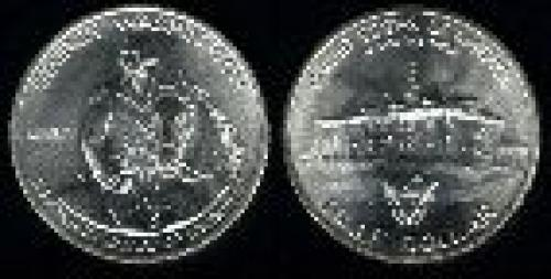 50 cents; Year: 1982; George Washington