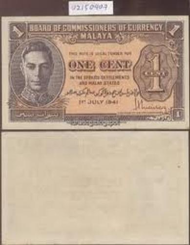 Banknote one cent