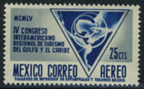 Tourist congress 1v; Year: 1956