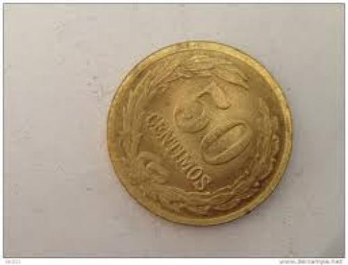 Coins;Paraguay; 50 centimos