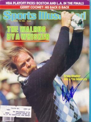 Craig Stadler autographed 1982 Masters Champion Sports Illustrated