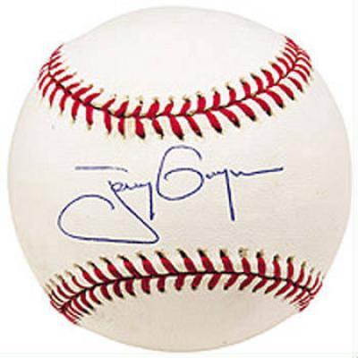 Tony Gwynn autographed MLB baseball