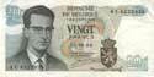20 Vingt Francs; Older banknotes
