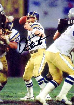 Dan Fouts autographed San Diego Chargers 5x7 photo