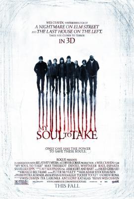 My Soul to Take mini movie poster