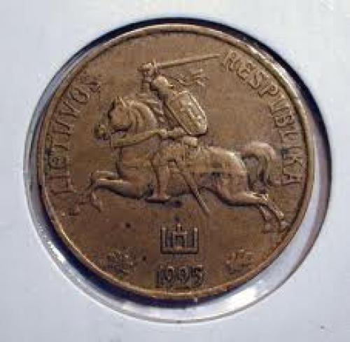 Lithuania ~ 50 Centu (obverse) ~ 1925. Medal and Coin
