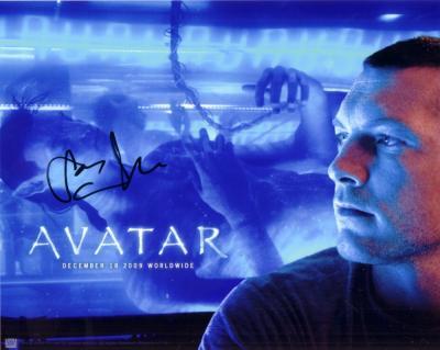 Sam Worthington autographed Avatar 8x10 photo