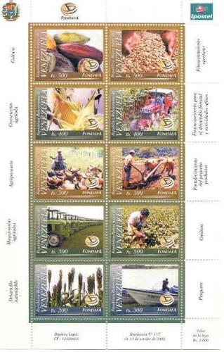 STAMPS 2002 FONDAFA AGRICULTURE