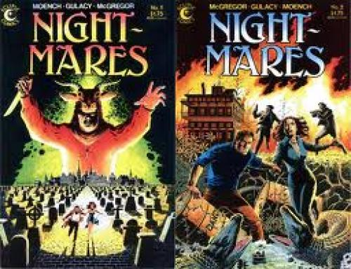 Comics; Horror Comic Book Reviews! Nightmares (1985 Eclipse Comics)