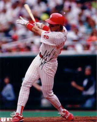 Mickey Morandini autographed 8x10 Philadelphia Phillies photo