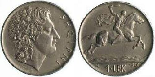 Coin; Albania 1 Lek 1926