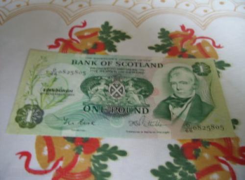 Scotland 1 Pound-1984