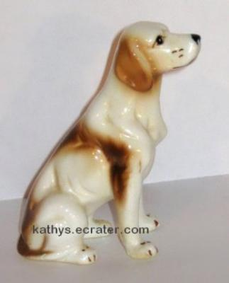 Bone China English Pointer Dog Animal Figurine