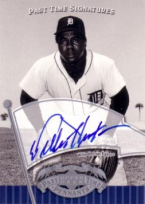 Willie Horton certified autograph Detroit Tigers Upper Deck card