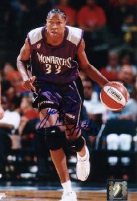 Yolanda Griffith autographed 8x10 Sacramento Monarchs photo