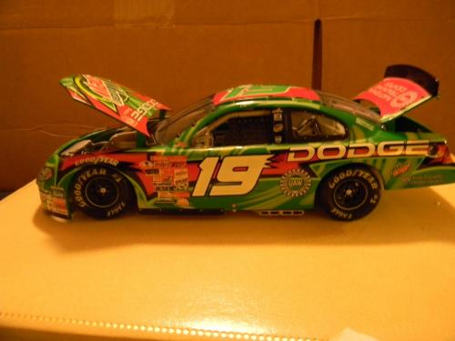 Casey Atwood 2001 Mountain Dew #19 Rookie 1/24 NASCAR Diecast Mint