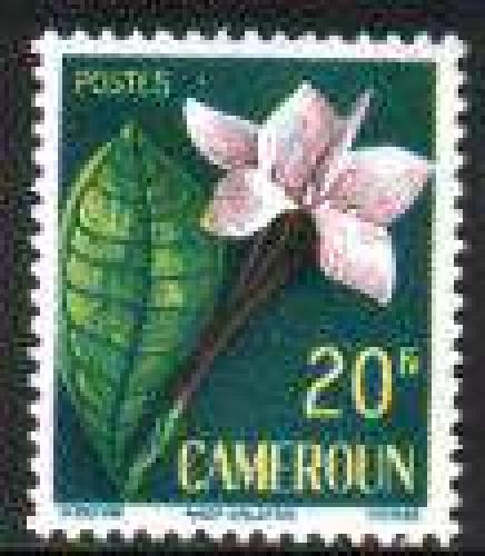 Flowers 1v; Year: 1959