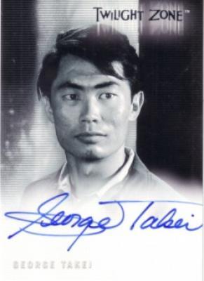 George Takei certified autograph Twilight Zone card