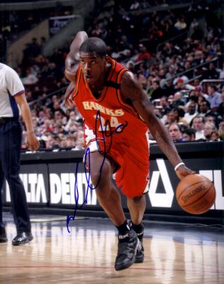 Marvin Williams autographed Atlanta Hawks 8x10 photo