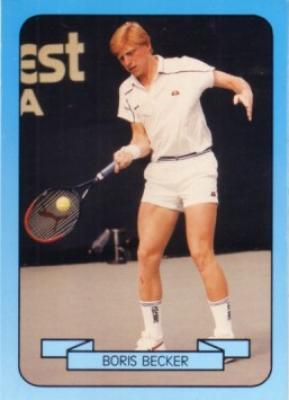 Boris Becker 1990 Living Legend card