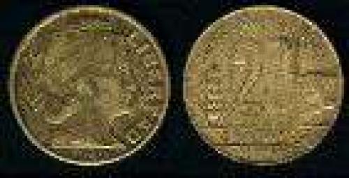 20 Centavos; Year: 1942-1950; (km 42); Aluminium-Bronze; TRIGO GANADO