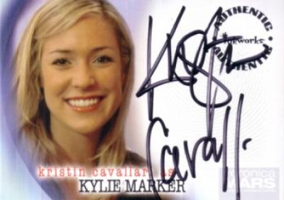 Kristin Cavallari certified autograph Veronica Mars card