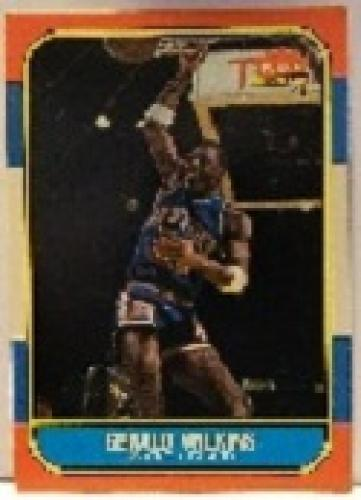 1986 Fleer Basketball Card