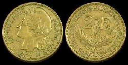 2 francs 1924-1925 (km 3)