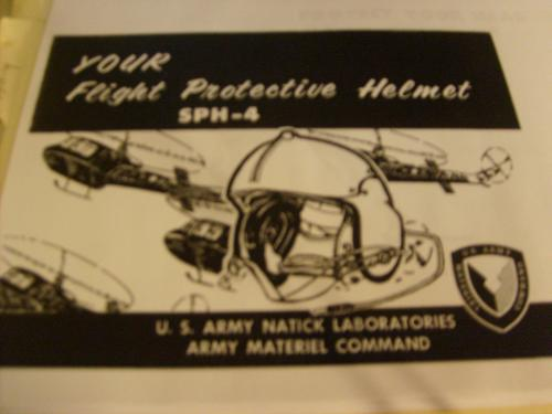 Sph-4 Helicopter Helmet Manual