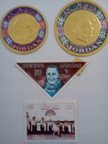stamps from jordan