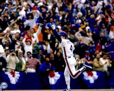 Lenny Dykstra autographed 8x10 New York Mets photo