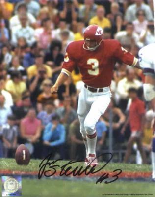 Jan Stenerud autographed Kansas City Chiefs 8x10 photo