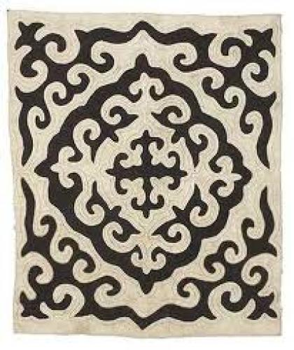 Decorative felt rugs