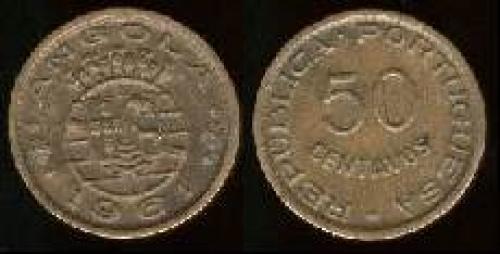 50 centavos 1953-1961 (km 75)