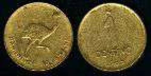 1 Centavo; Year: 1985; (km 96.1);  bronce; ÑANDU (fina)
