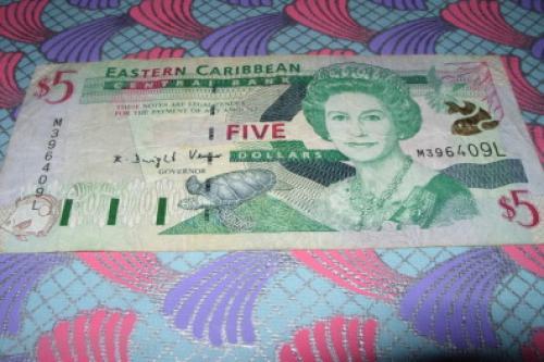 East Caribbean/L -St. Lucia 1 dolar-1993/2003