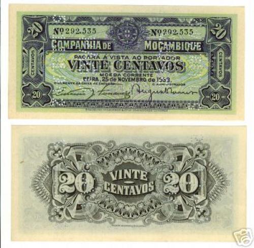 20 Centavos 1933
