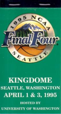 1995 NCAA Basketball Final Four ticket booklet (UCLA wins)