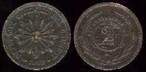 2 centesimos 1869 (km 12)