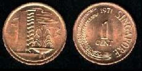 1 cent 1967-1976 (km 1)