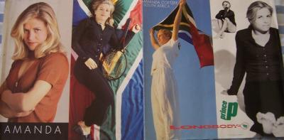 Amanda Coetzer Prince tennis promo 13x25 poster
