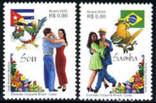 Son & Samba 2v, joint issue Cuba