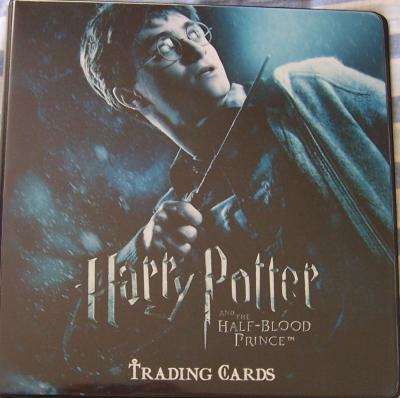 Harry Potter and the Half-Blood Prince album or binder
