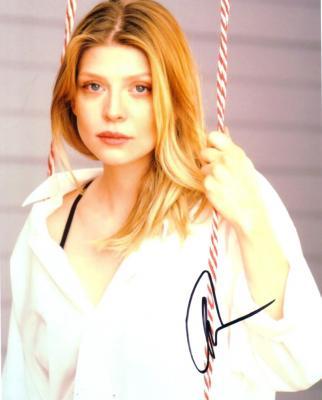 Amber Benson autographed 8x10 portrait photo