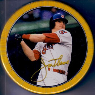 Jim Thome Indians 1997 Topps Screen Plays motion card