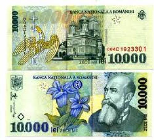 ROMANIA Banknotes, 10000 Lei